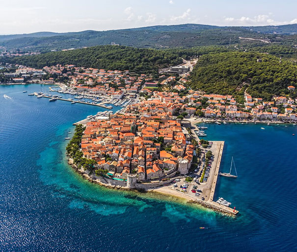 KORČULA ISLAND AND PELJEŠAC PENINSULA TOUR, runs on Mon, Wed, Fri, 430 kn
