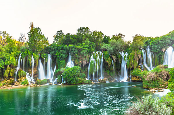MOSTAR AND KRAVICE WATERFALLS TOUR: every day, 390 kn